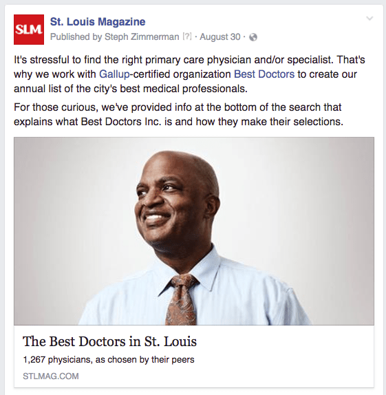 STL doctors gallup