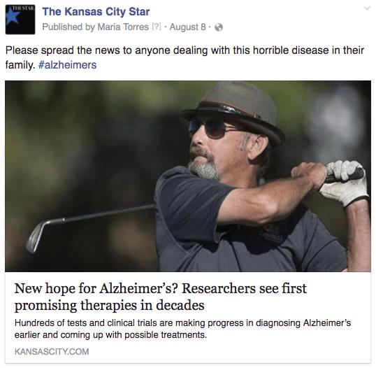 KC alzheimers