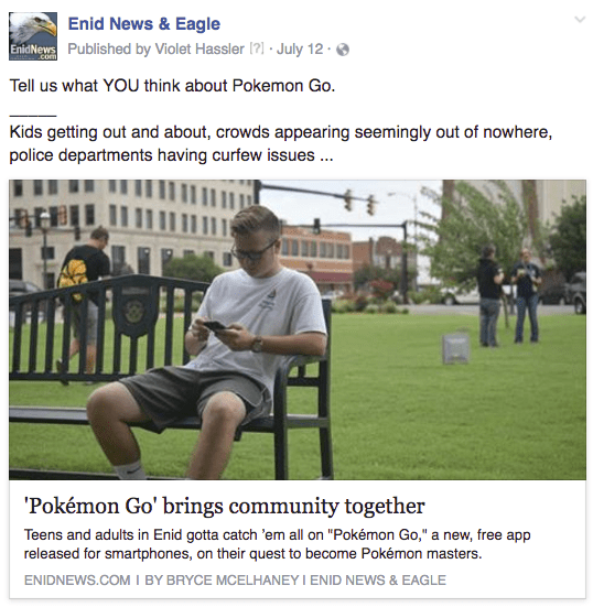 Enid Pokemon Go community