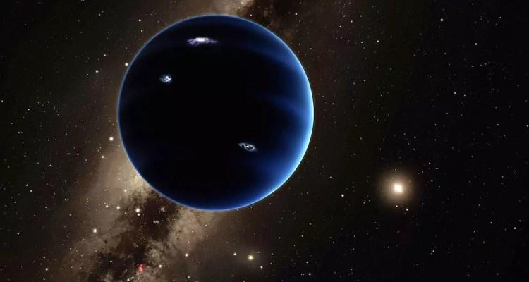 planet 9 vue artiste artistique x neuvième structure apparence