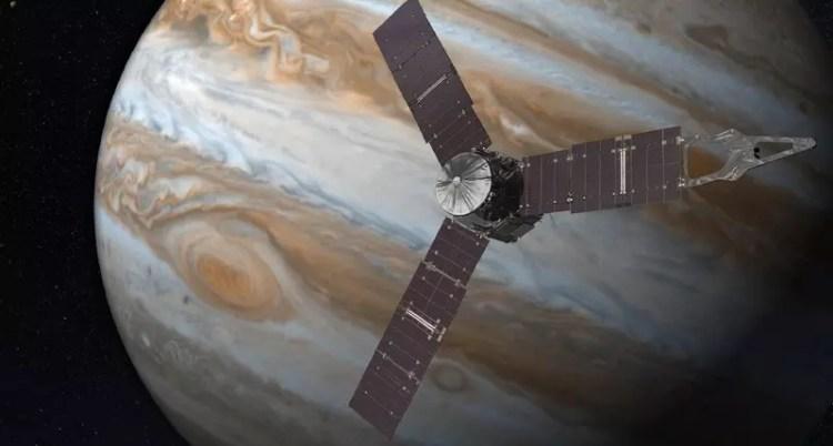 vaisseau spatial juno jupiter nasa sonde