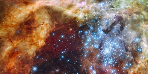 amas stellaire étoile formation galaxie