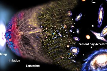 expansion univers vue artiste big bang