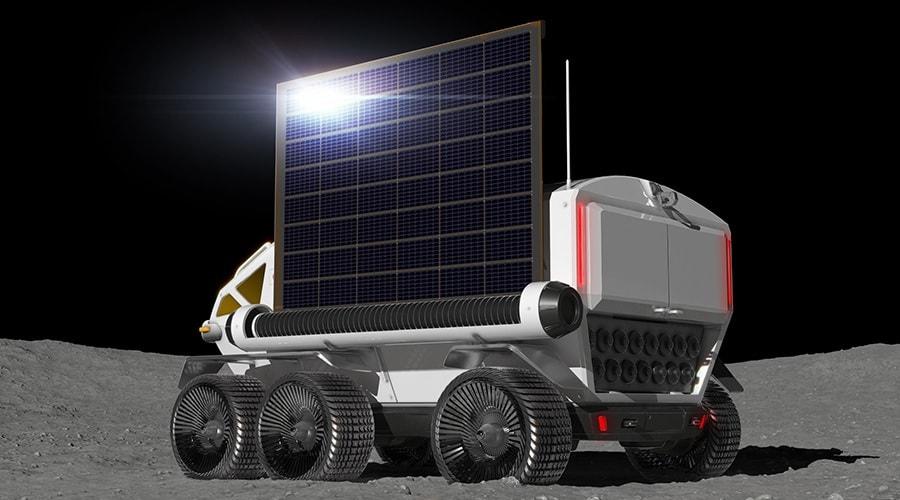 panneaux solaires rover
