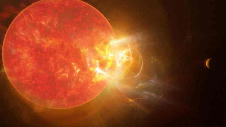 Une éruption spectaculaire en provenance de Proxima Centauri bat tous les records