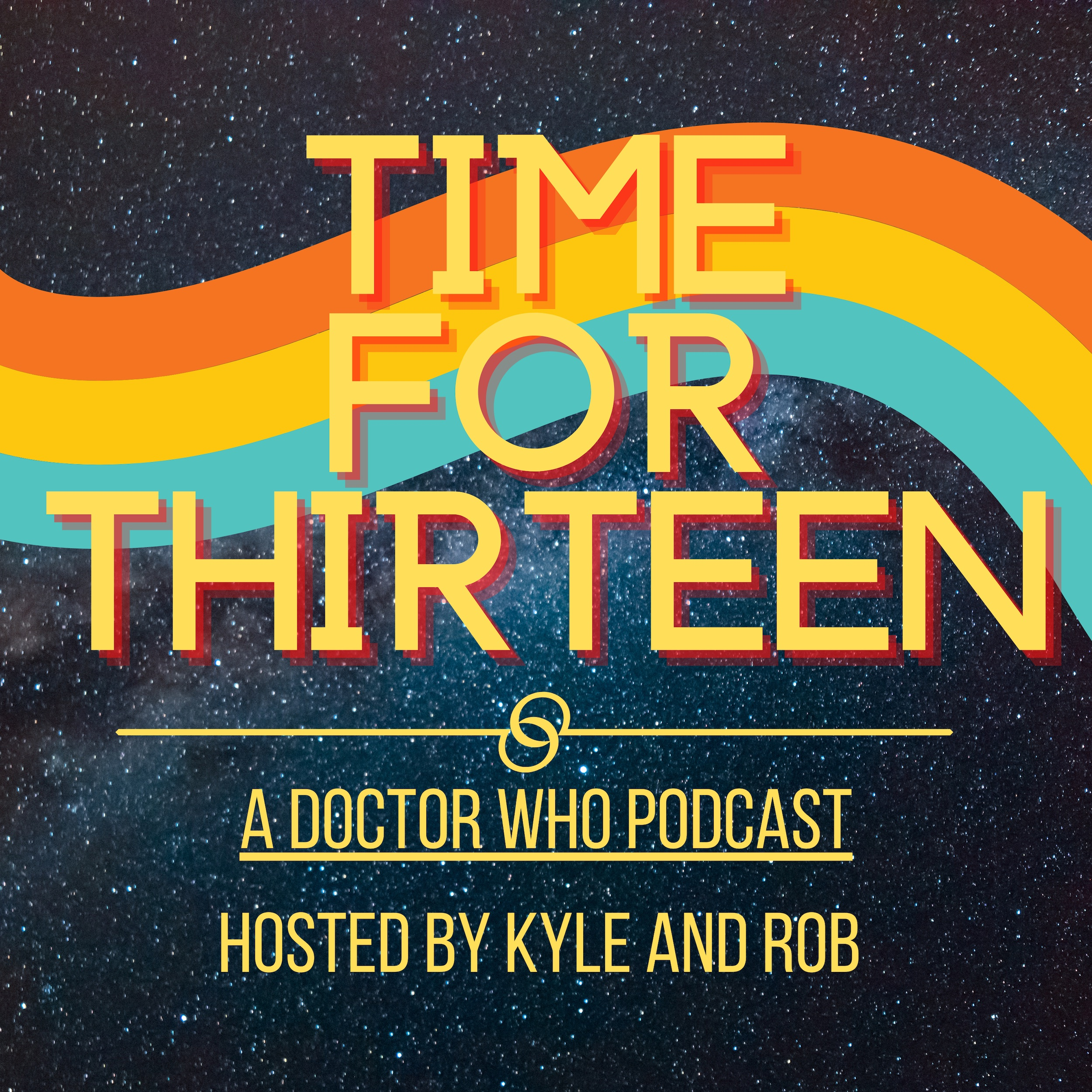 Time for Thirteen Doctor Who Podcast Logo
