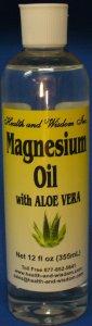 10.Magnesium Oil with ALOE VERA
