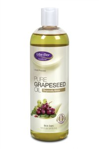 5.Life-Flo Organic Pure Grapeseed Oil, 16 Ounce