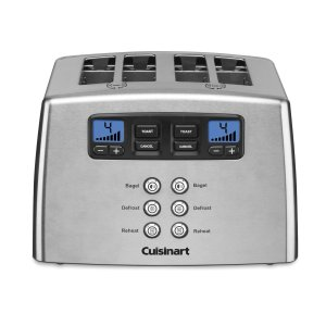 9.Cuisinart CPT-440 Touch to Toast Leverless 4-Slice Toaster