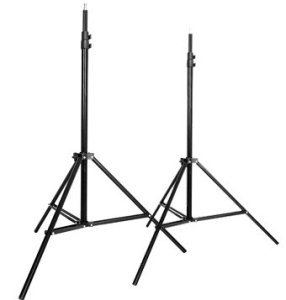 1.CowboyStudio Set of Two 7 feet Photography Light Stands with Cases