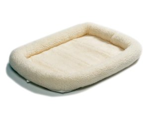 2.Midwest Quiet Time Pet Bed