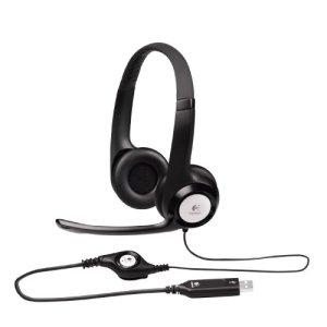 3.Logitech ClearChat Comfort USB Headset