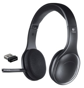 5.Logitech Wireless Headset H800 for PC
