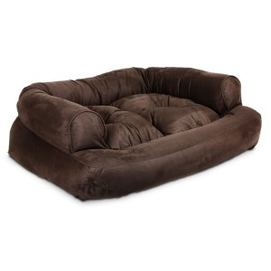 6.Snoozer Overstuffed Luxury Pet Sofa, X-Large, Peat