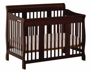 7.Stork Craft Tuscany 4-in-1 Convertible Crib