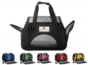5.Soft-Sided Kennel - Best Small Size Puppies & Cat's Carrier