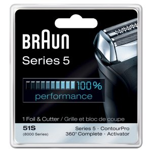 6.Braun Series 5 Combi 51s Foil And Cutter Replacement Pack