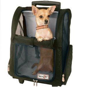 10.Snoozer Wheel Around Pet Travel Carrier