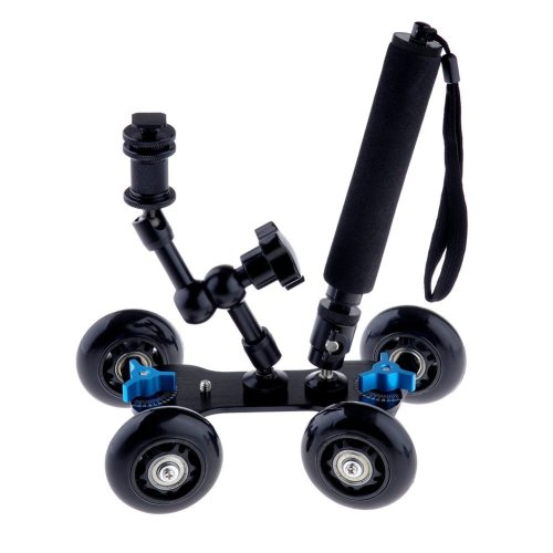 5.Neewer Mobile Rolling Sliding Dolly Stabilizer Skater