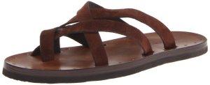 7. DSQUARED2 Men's Vitello Toe Ring Sandal