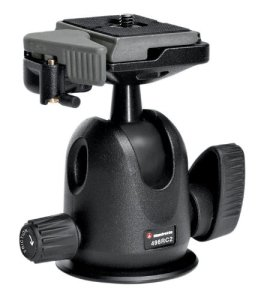 8.Manfrotto 496RC2 Ball Head