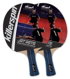 4. Killerspin JETSET 2 Table Tennis Paddle Set with Balls