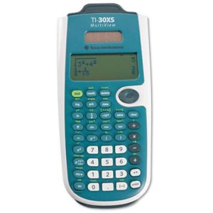 8. Texas Instruments TI-30XS MultiView Scientific Calculator