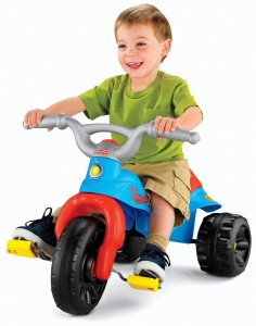 1.Fisher-Price Thomas the Train Tough Trike