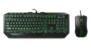 8. Cooler Master Storm Devastator LED Gaming Keyboard and Mouse Combo