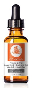 1.Oz Naturals Best Anti-Aging Vitamin C Serum
