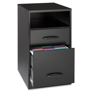 2. Lorell Drawer Mobile Office File Cabinet with Shelf