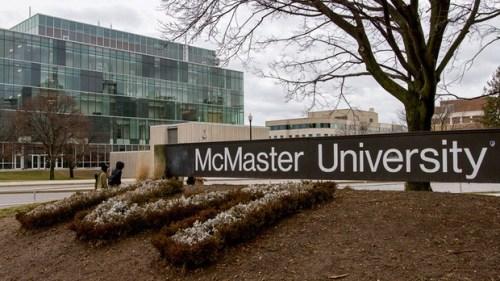 3.McMaster University