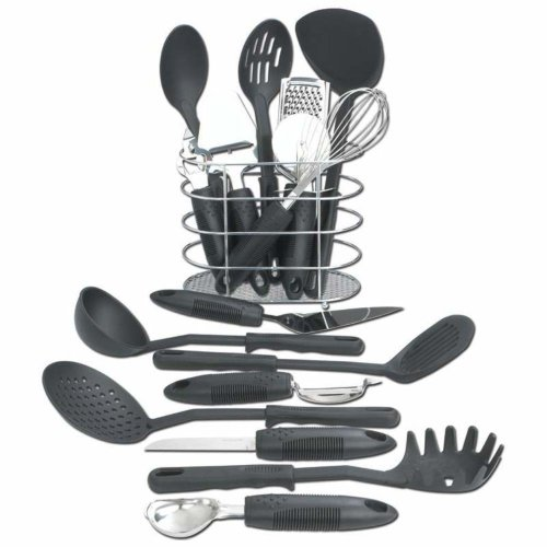 6. Maxam 17pc Kitchen Utensils Set