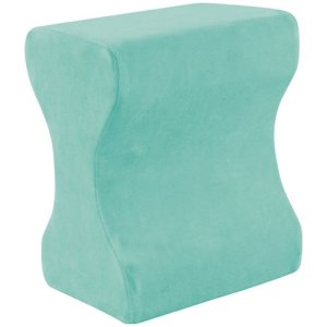7. Contour Products Memory Foam Leg Pillow with Cover