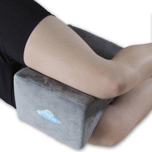 9. Cushy Cloud Memory Foam Knee Pillow