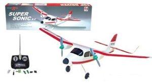 10. Super Sonic RC Model Airplane Training Plane ARF Radio Control Aircraft