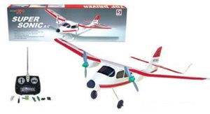 10. Super Sonic RC Model Airplane Training Plane ARF Radio Control Aircraft