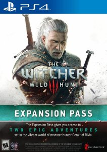 8. The Witcher Wild Hunt - Expansion Pass