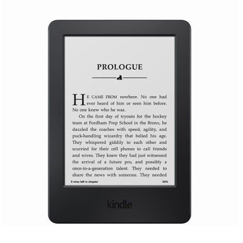 1.Kindle Glare-Free Touchscreen Tablet