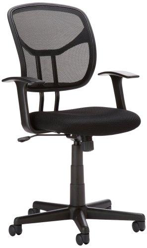 4. AmazonBasics Mid-Back Mesh Chair