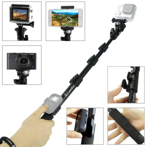 6.Top 10 Best GoPro Selfie Sticks with Remote Review in 2016
