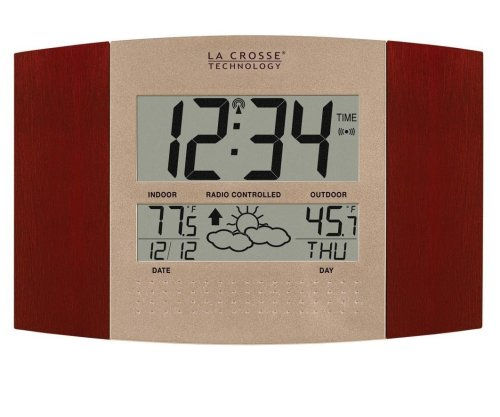 8.List 10 Best Weather Monitoring Clocks Reviews in 2016
