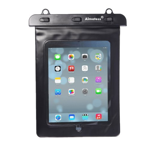 4. Almatess Universal Waterproof Tablet Case with Lanyard Protective Multi Function