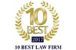10 Best Law Firms 2017, Estate Planning Lawyer