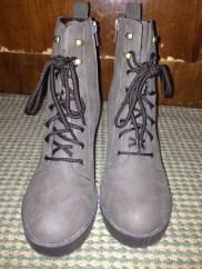 khaki boots 1