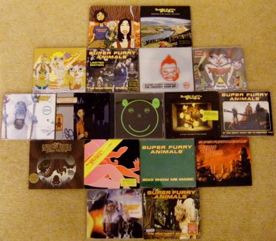 I love my CD singles