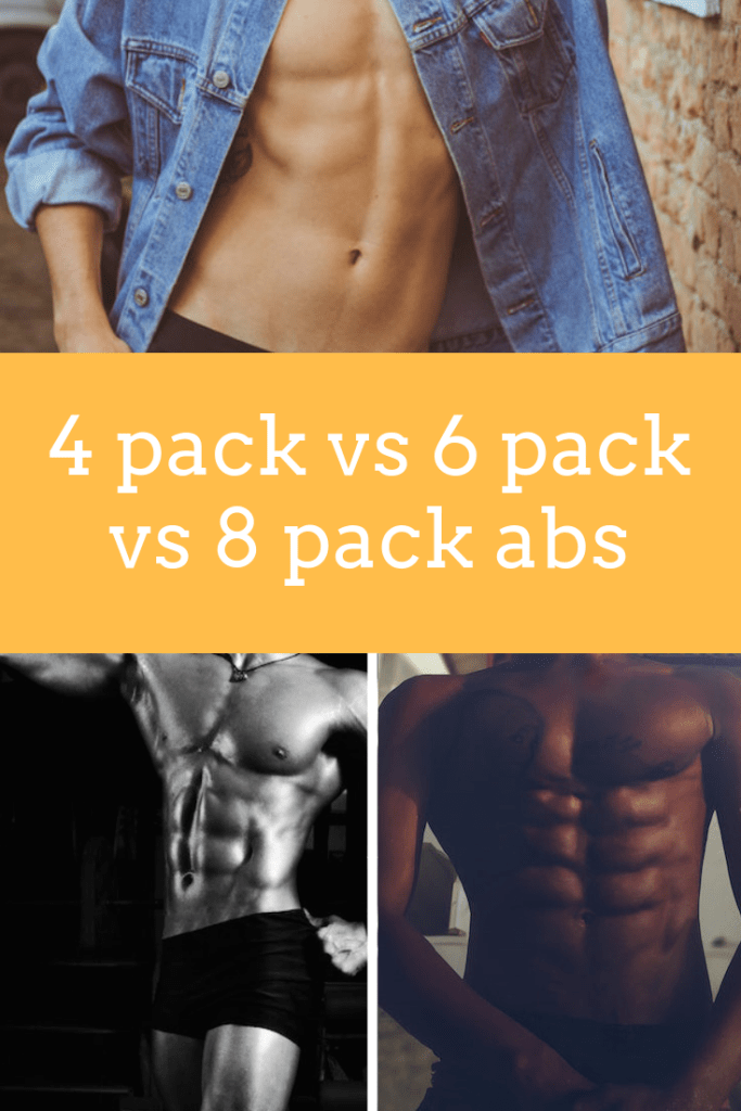 4 Pack vs 6 Pack vs 8 Pack Abs Explained (with Pictures)