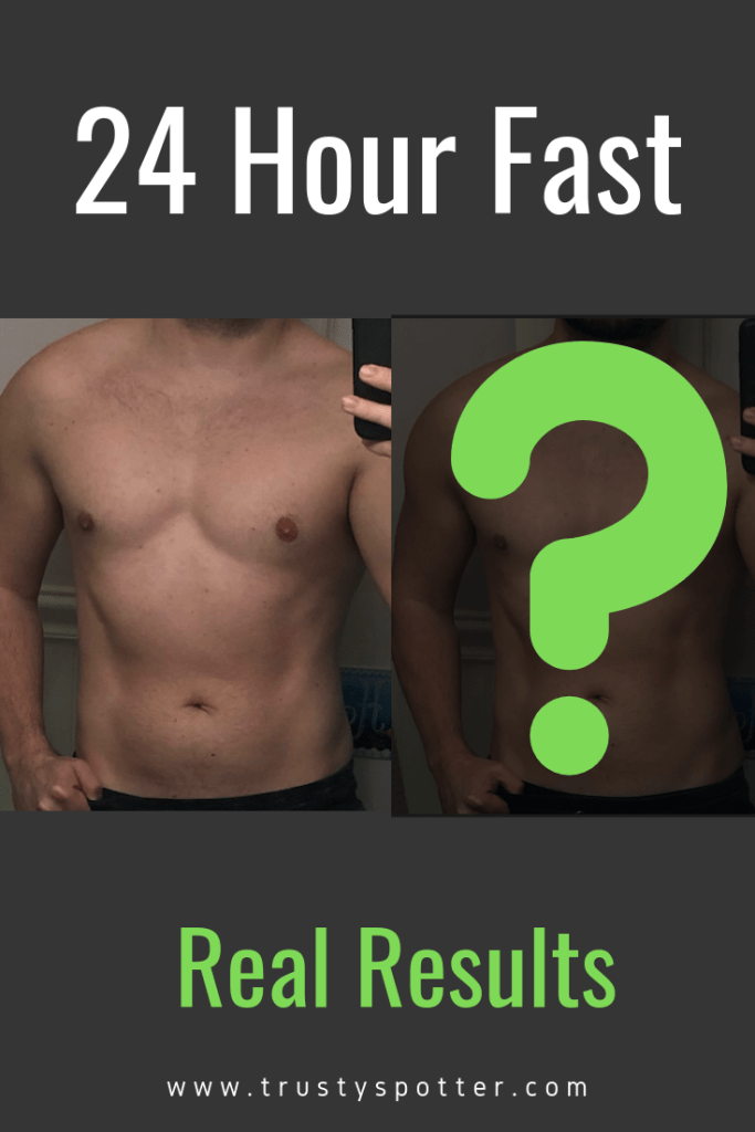I tried my first 24 hour fast. Here's what happened. (Photos)