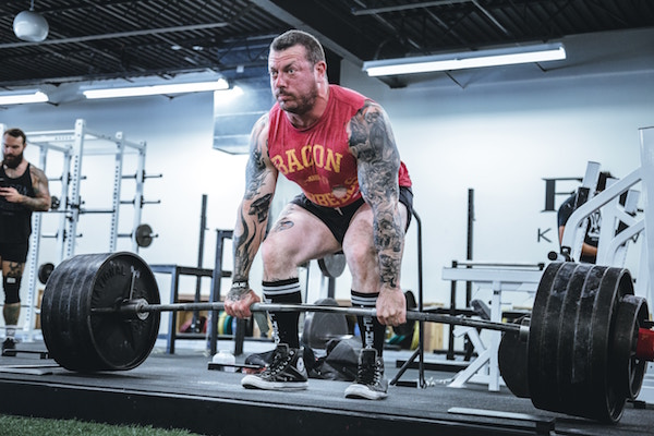 How long does it take to deadlift 405