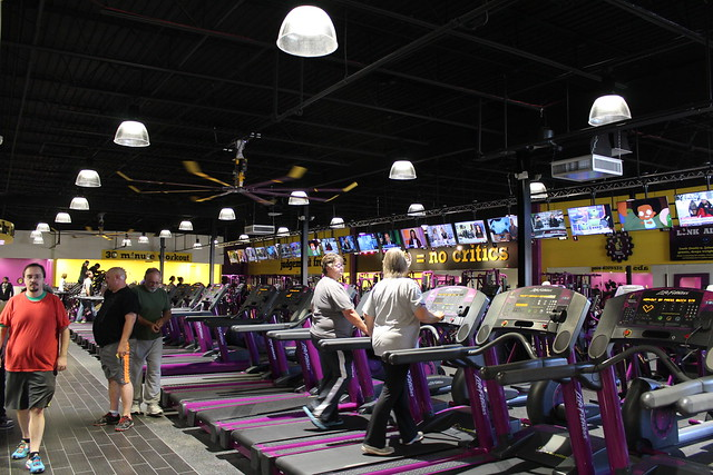 Planet Fitness equipment